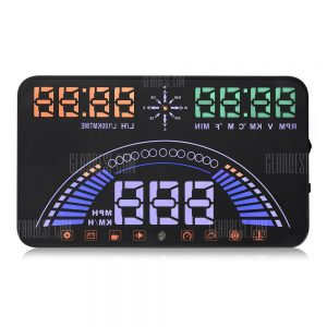 S7 de 5,8 pulgadas de coche OBDII HUD Head Up Display