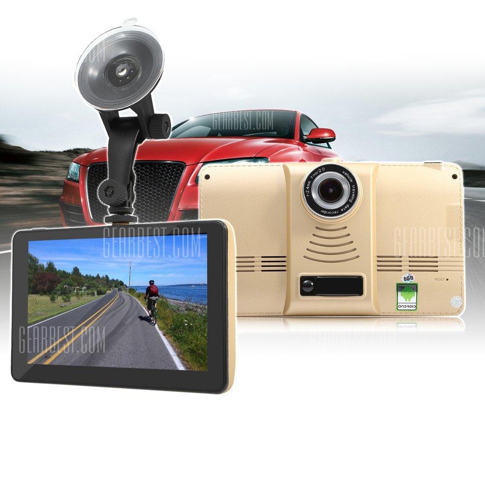 901 7 Pulgadas tableta Android 4.4 coche DVR GPS