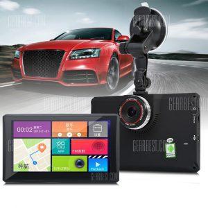 902 7 Pulgadas tableta Android 4.4 coche GPS DVR Grabador de 1080p