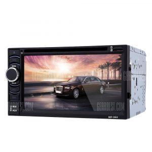 362 6.2 Pulgadas estereo de audio para coche reproductor de DVD