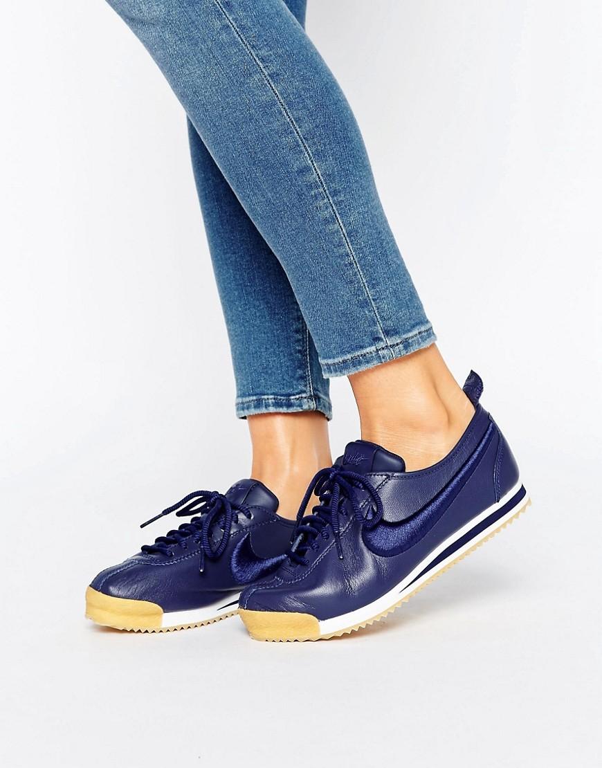 Zapatillas de deporte azul marino Cortez 72 de Nike