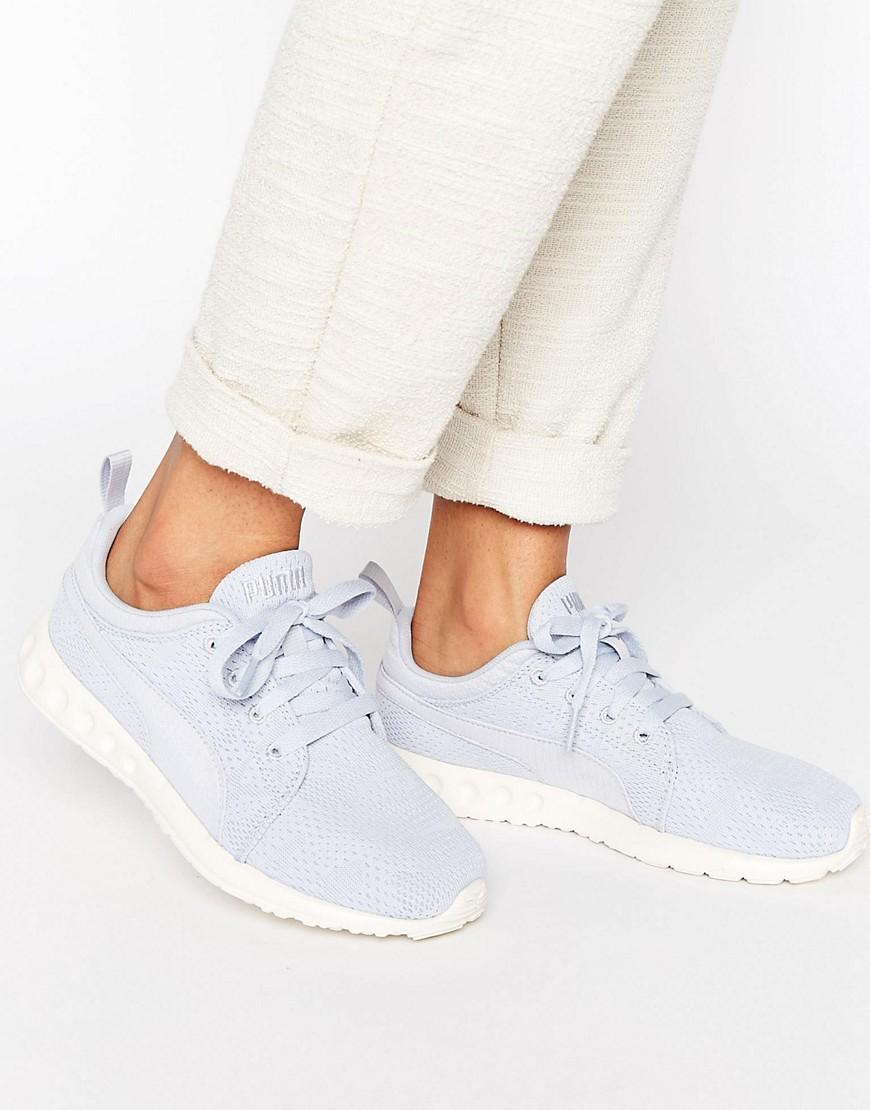 Zapatillas de deporte de malla azules Carson de Puma