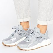 Zapatillas de deporte grises Run Premium Air Huarache de Nike