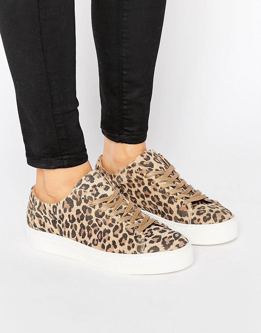 Zapatillas de leopardo Donna de Selected
