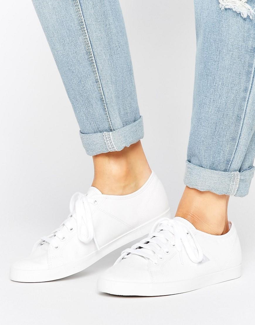 Zapatillas de lona blanca Setone de Le Coq Sportif