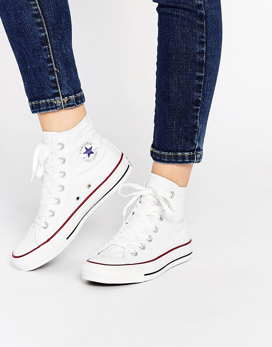 Zapatillas hi top blancas All Star de Converse