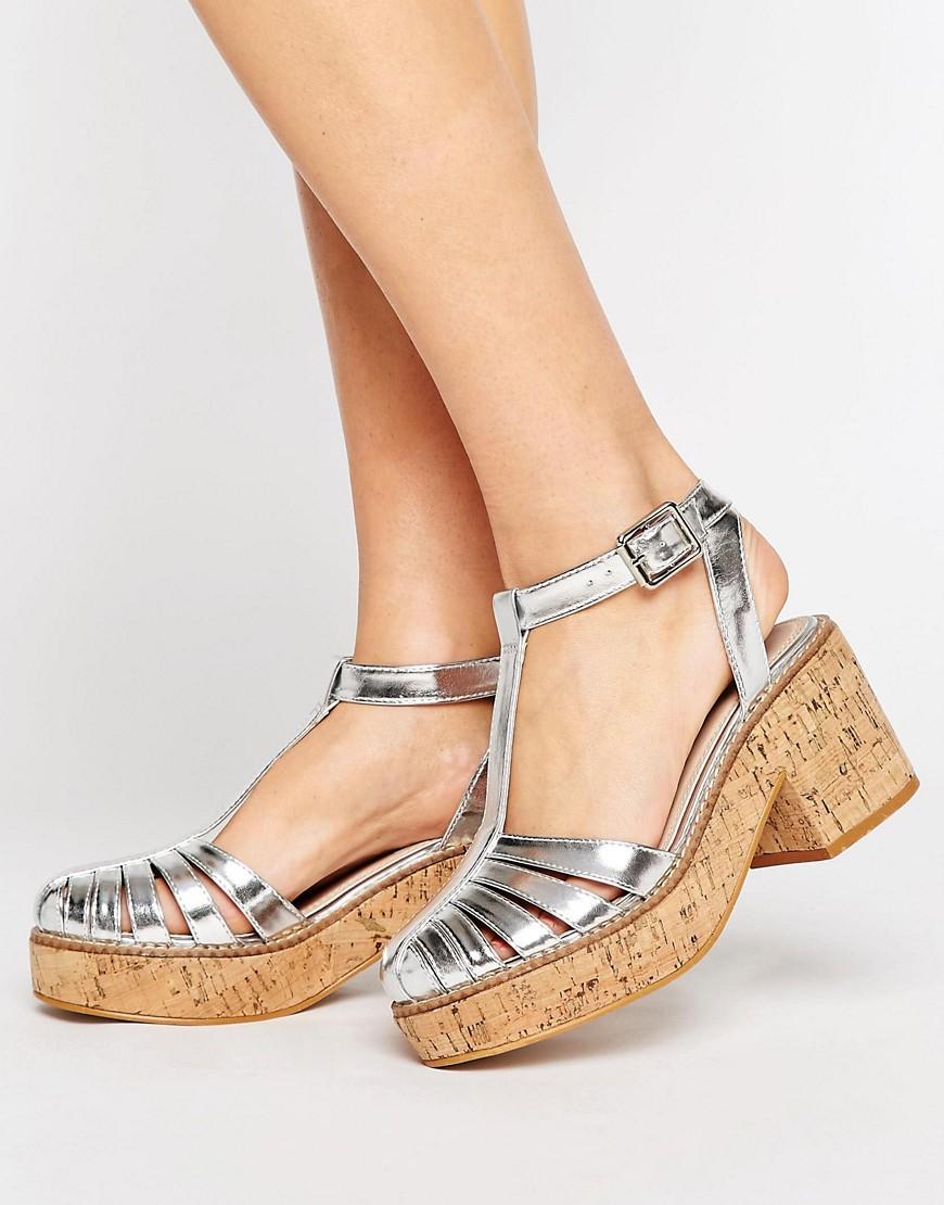 Zapatos con plataforma de corcho OCKERBY en ofertas calzado