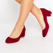 Zapatos de tacon medio en bloque de cuero Falia de ALDO