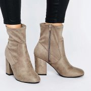Botines altos de tacon de New Look