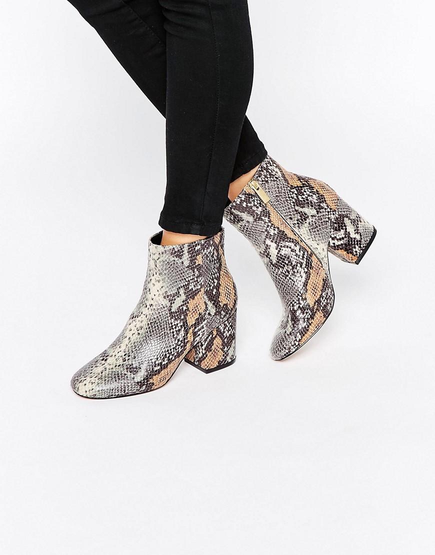 Botines con tacon RACHELLE en ofertas calzado
