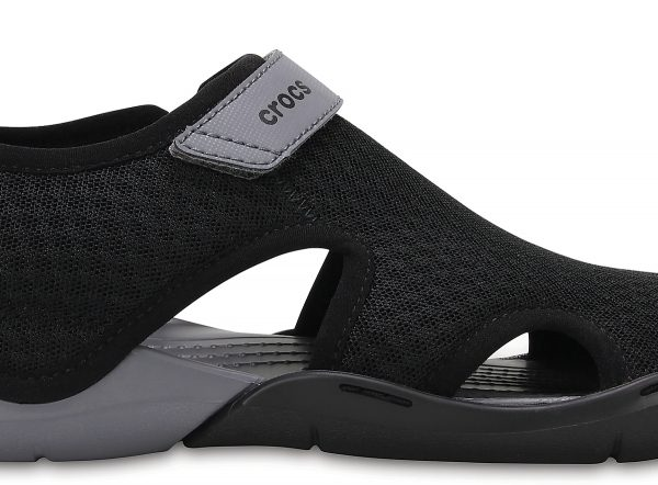 Crocs Sandal Mujer Negros Swiftwater Mesh s