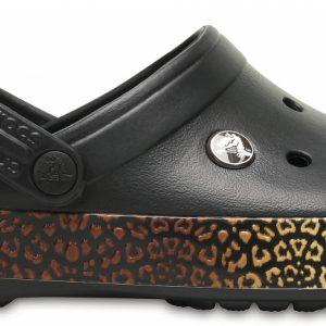 Crocs Clog Unisex Negros Crocband Leopard III