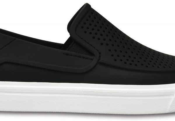Crocs Shoe Mujer Negros CitiLane Roka Slip-on