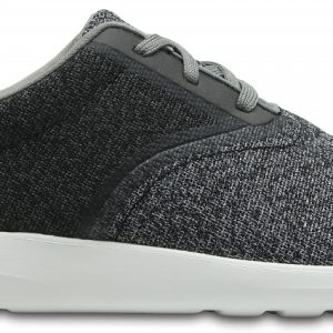 Crocs Shoe Hombre Light Grey / Blancos Crocs Kinsale Static Lace