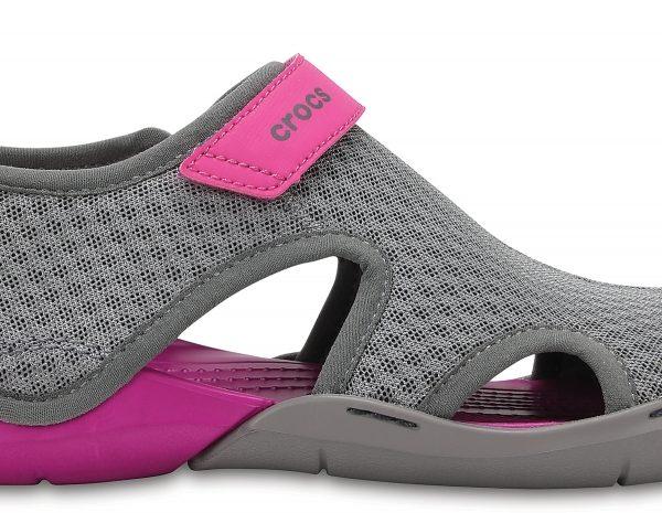 Crocs Sandal Mujer Smoke Swiftwater Mesh s