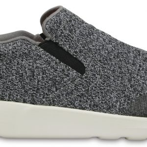 Crocs Shoe Hombre Charcoal / Pearl Crocs Kinsale Static Slip-On