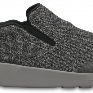 Crocs Shoe Hombre Negros / Smoke Crocs Kinsale Static Slip-On