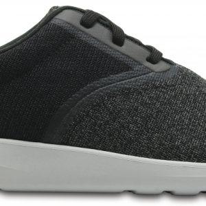 Crocs Shoe Hombre Negros / Pearl Crocs Kinsale Static Lace