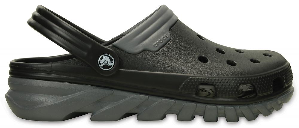 Crocs Clog Unisex Negros / Charcoal Duet Max