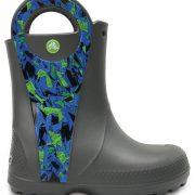 Crocs Boot Unisex Slate Grey Handle It Graphic