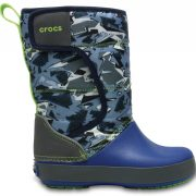 Crocs Boot Unisex Slate Grey/Blue Jean LodgePoint Graphic Snow