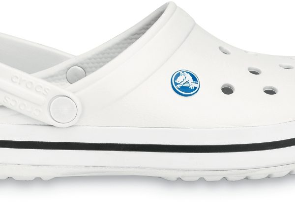 Crocs Clog Unisex Blancos Crocband