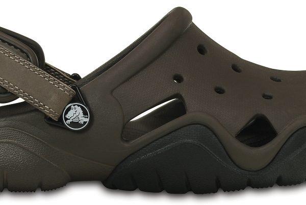 Crocs Clog Hombre Espresso / Negros Swiftwater