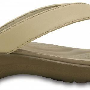 Crocs Flip Mujer Chai / Walnut Capri V