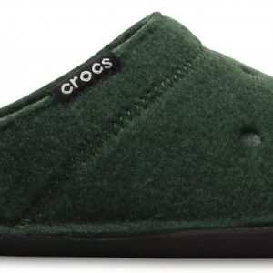 Crocs Slipper Unisex Forest Verdes/Oatmeal Classic Slipper