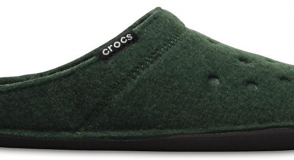 Crocs Slipper Unisex Forest Verdes/Oatmeal Classic Slipper