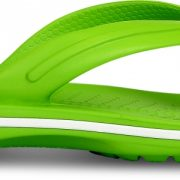 Crocs Flip Unisex Volt Verdes / Blancos Crocband
