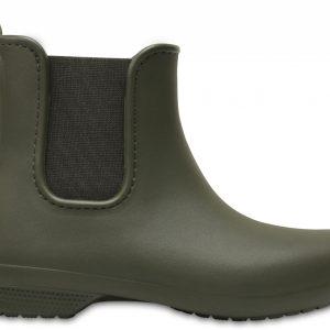 Crocs Boot Mujer Dark Camo Verdes Crocs Freesail Chelsea