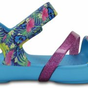 Crocs Sandal para chica Electric Blue Crocs Lina s