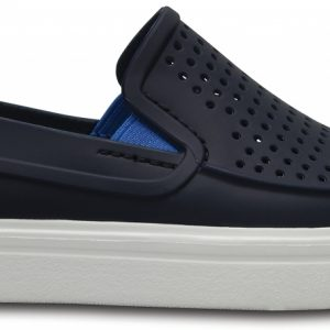 Crocs Shoe Unisex Azul Navy CitiLane Roka Slip-On