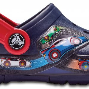 Crocs Clog Unisex Azul Navy Crocband Fun Lab Graphic Lights s