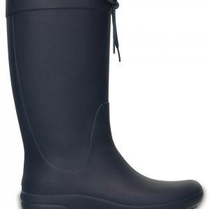 Crocs Boot Mujer Azul Navy Crocs Freesail Rain