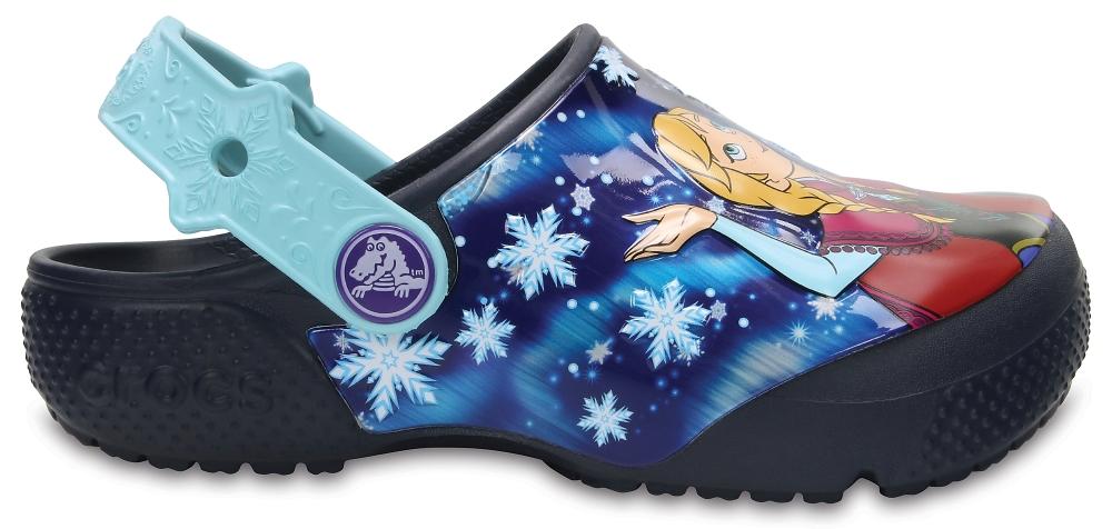 Crocs Clog para chica Azul Navy Crocs Fun Lab Frozen s