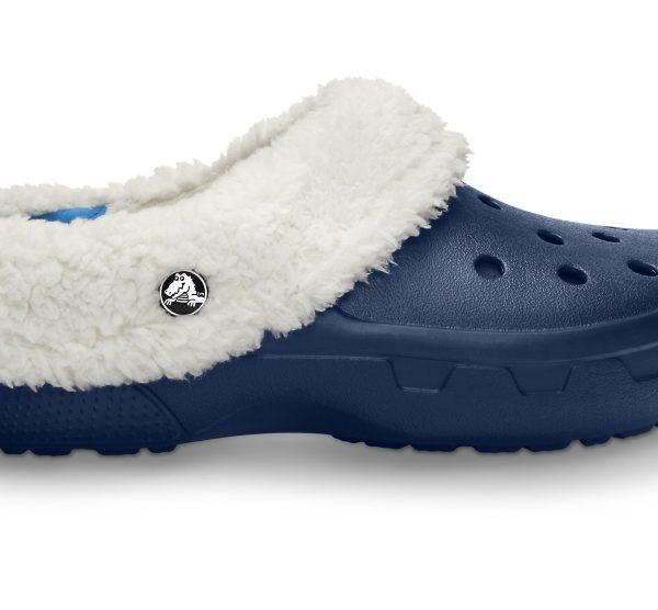 Crocs Clog Unisex Azul Navy / Oatmeal Mammoth EVO