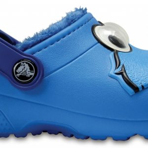 Crocs Clog Unisex Ocean Crocs Fun Lab Fuzz Lined Cookie Monster
