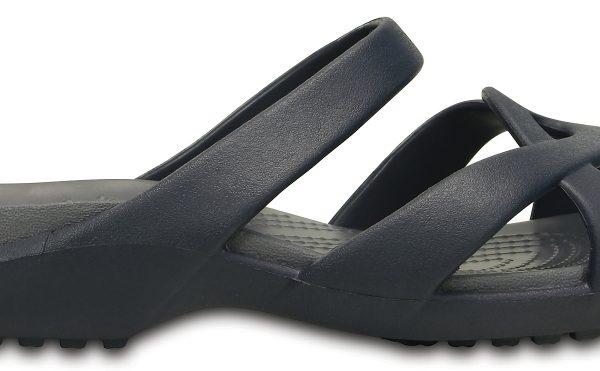 Crocs Sandal Mujer Azul Navy / Storm Meleen Twist