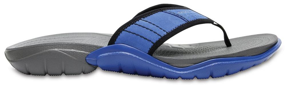 Crocs Flip Hombre Blue Jean/Slate Grey Swiftwater