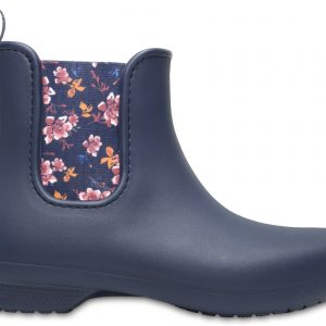 Crocs Boot Mujer Azul Navy/Floral Crocs Freesail Chelsea