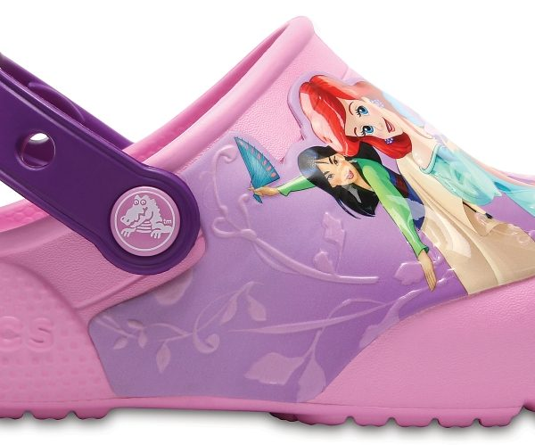 Crocs Clog para chica Amethyst Crocs Fun Lab Lights Princess