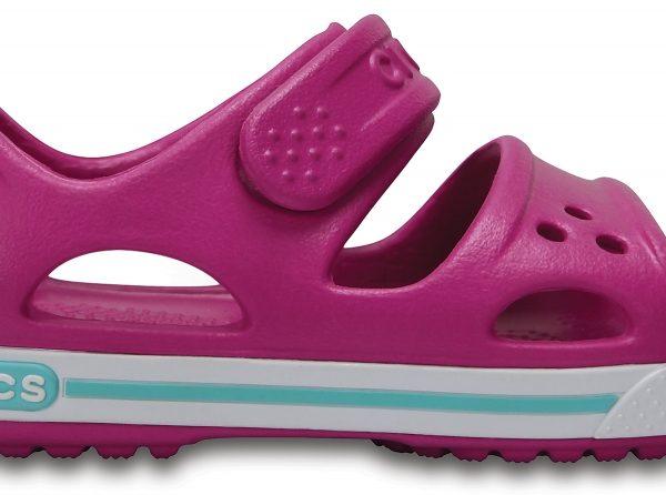 Crocs Sandal Unisex Vibrant Violet / Blancos Crocband II