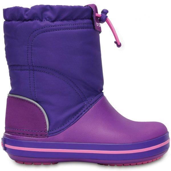 Crocs Boot Unisex Amethyst/Ultraviolet Crocband LodgePoint