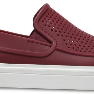 Crocs Shoe Mujer Garnet CitiLane Roka Slip-on