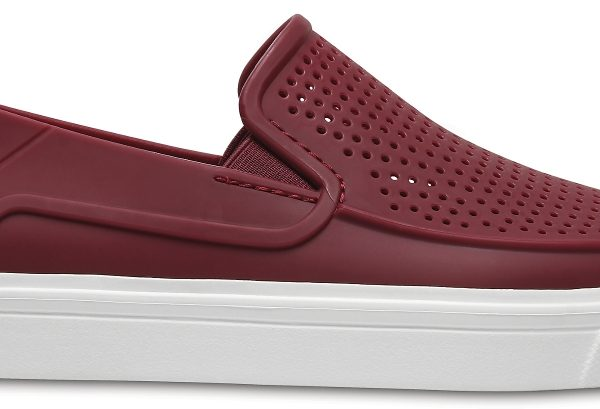 Crocs Shoe Mujer Garnet CitiLane Roka Slip-on