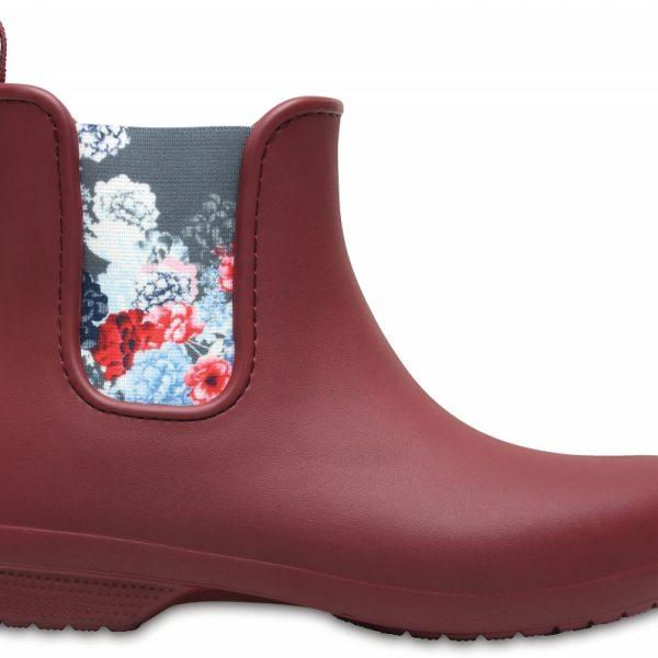 Crocs Boot Mujer Garnet Crocs Freesail Chelsea