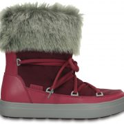 Crocs Boot Mujer Pomegranate LodgePoint Lace