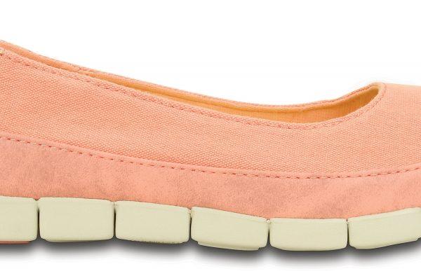Crocs Flat Unisex Melon / Stucco Stretch Sole